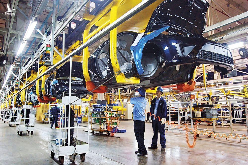 Các chuyên gia Hàn Quốc sẽ hỗ trợ doanh nghiệp sản xuất linh kiện phụ trợ của Việt Nam.