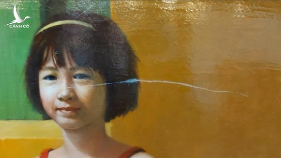 Tranh bị rạch xước, họa sĩ rút khỏi triển lãm mỹ thuật toàn quốc - ảnh 4