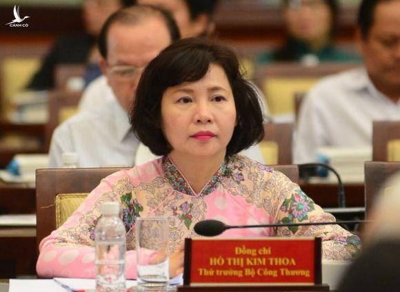 Khai trừ ra khỏi Đảng nguyên thứ trưởng Bộ Công thương Hồ Thị Kim Thoa - Ảnh 1.