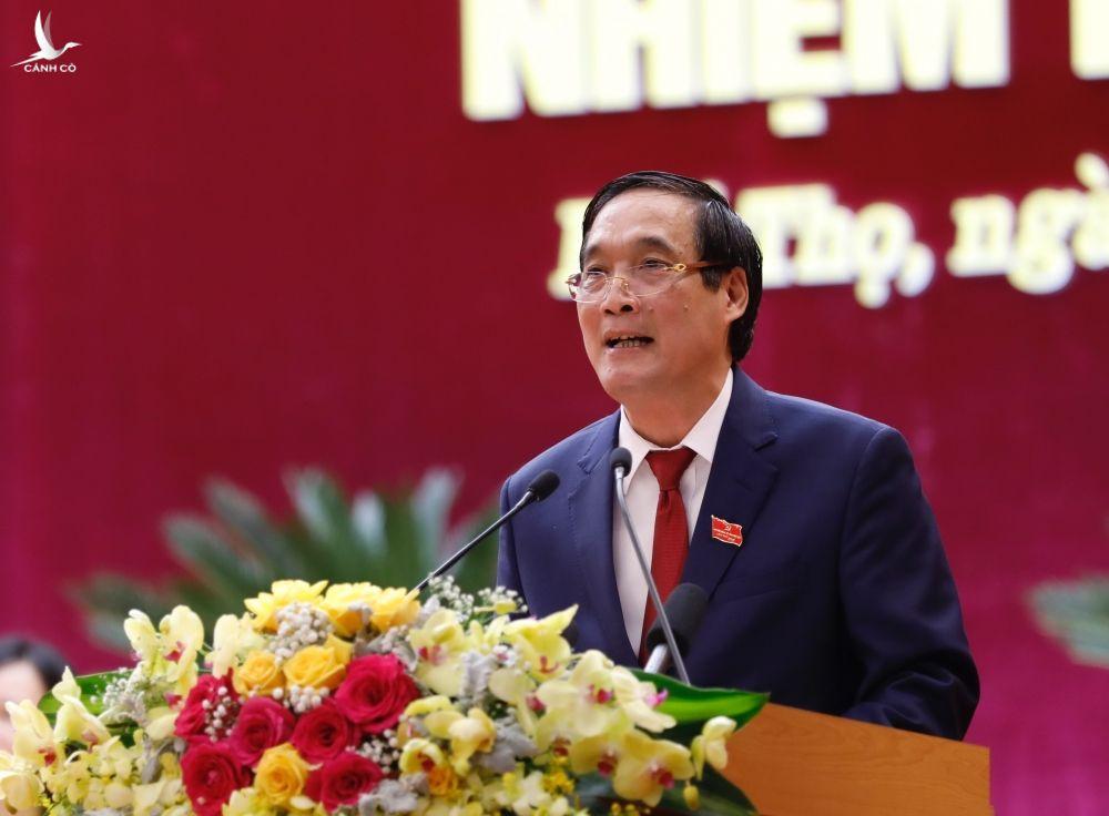 Thu tuong Nguyen Xuan Phuc du Dai hoi dai bieu Dang bo tinh Phu Tho hinh anh 11