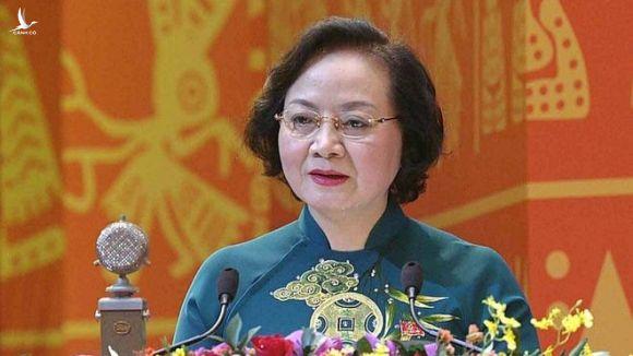 Thứ trưởng Bộ Nội vụ Phạm Thị Thanh Trà /// Ảnh Gia Hân