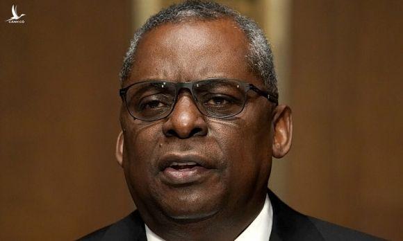 Lloyd Austin trong phiên điều trấn trước thượng viện ngày 19/1. Ảnh: Reuters.