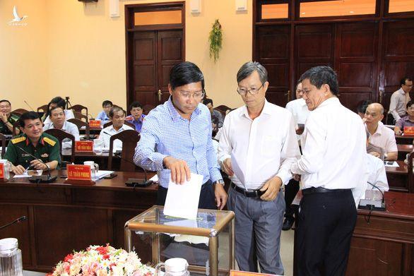 Ông Lê Tuấn Phong làm phó bí thư Tỉnh ủy Bình Thuận 2020 - 2025 - Ảnh 1.