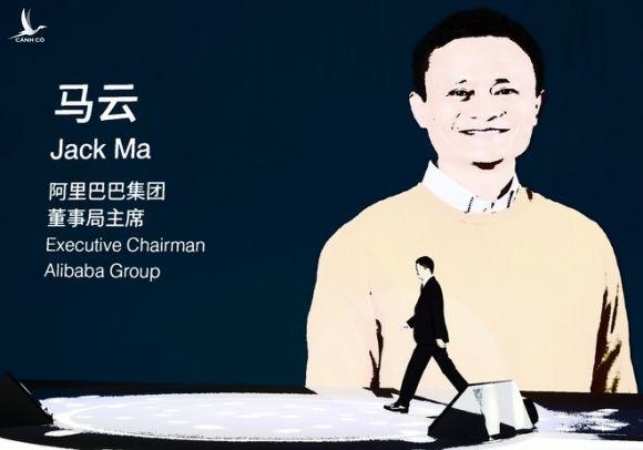 Tỉ phú Jack Ma từng lèo lái Alibaba phát triển mạnh mẽ /// Ảnh: AFP