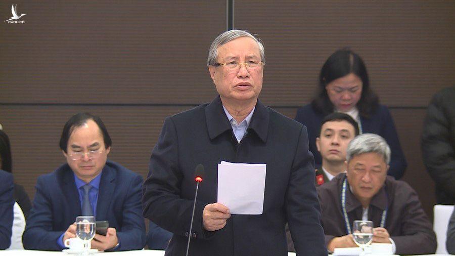 Ông Trần Quốc Vượng: Đảm bảo an toàn tuyệt đối cho Đại hội XIII của Đảng - Ảnh 2.