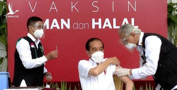 thu tuong Indonesia tiem vaccine Covid-19 anh 1
