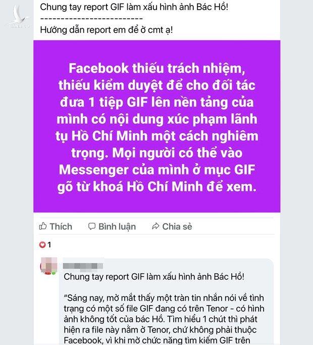 Thuc hu viec Facebook cho phep su dung anh GIF xuc pham Bac Ho hinh anh 3