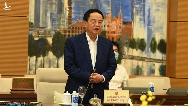 Ông Võ Trọng Việt: 'Chưa khóa nào Đảng, Quốc hội chia sẻ với Chính phủ như khóa này' - ảnh 1