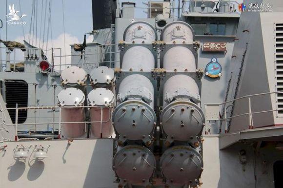 Cận cảnh 2 chiến hạm hiện đại bậc nhất Việt Nam tham gia tranh tài tại Army Games - Ảnh 12.