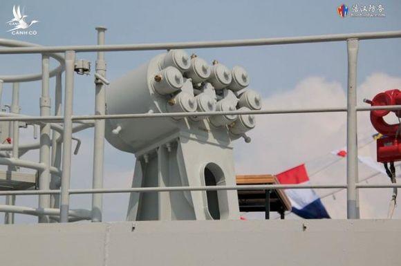 Cận cảnh 2 chiến hạm hiện đại bậc nhất Việt Nam tham gia tranh tài tại Army Games - Ảnh 15.