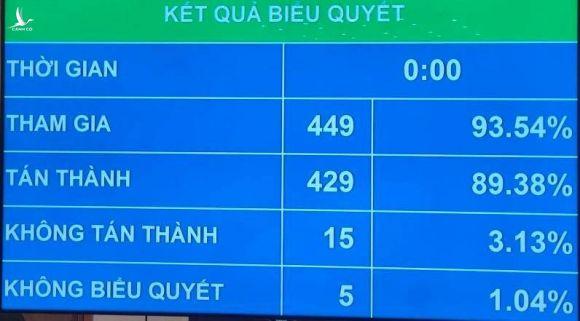 Có 15 ĐBQH không tán thành thông qua Nghị quyết miễn nhiệm Chủ tịch Quốc hội với bà Nguyễn Thị Kim Ngân - Ảnh 2.