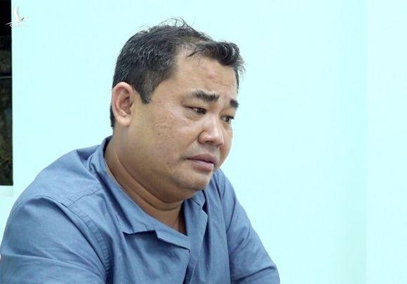Trần Trí Mãnh, 41 tuổi, Giám đốc Công ty TNHH thương mại và sản xuất Gia Thịnh /// ẢNH: CÔNG AN CUNG CẤP