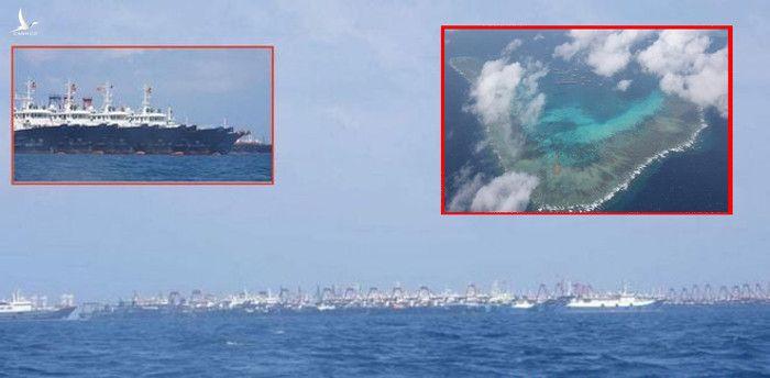 Việt Nam ứng xử khôn ngoan khi 220 tàu Trung Quốc neo đậu ở đá Ba Đầu