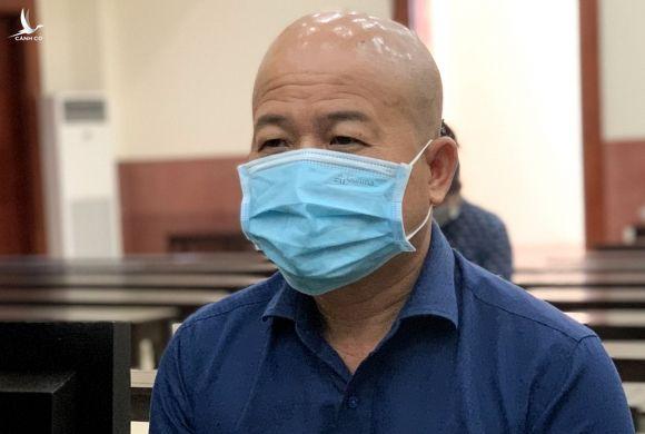 Ông Đinh Ngọc Hệ tại tòa ngày 22/3. Ảnh: Dương Trang.