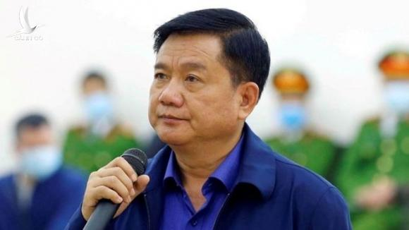 Ông Đinh La Thăng trước tòa /// Ảnh TTXVN