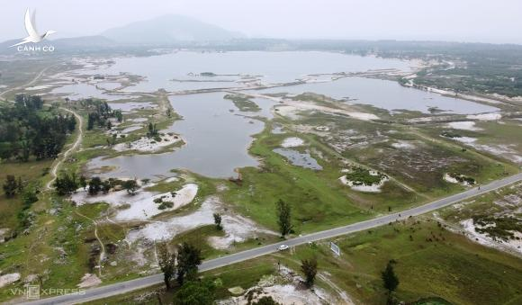 Khu vực mỏ đã giải phóng mặt bằng rộng hơn 741 ha, thuộc địa bàn 3 xã Thạch Khê, Đỉnh Bàn, Thạch Hải (huyện Thạch Hà). Ảnh: Đức Hùng