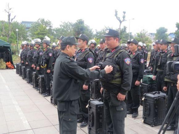 Cảnh sát cơ động - Những chặng đường xây dựng và phát triển1