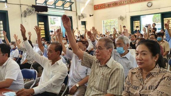 100% cử tri tín nhiệm ông Nguyễn Thiện Nhân ứng cử đại biểu Quốc hội - Ảnh 2.