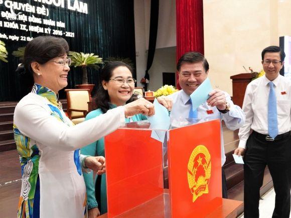 Nhân sự TP.HCM: Chủ tịch Q.1 Nguyễn Văn Dũng được bầu làm Phó chủ tịch HĐND thành phố - ảnh 1
