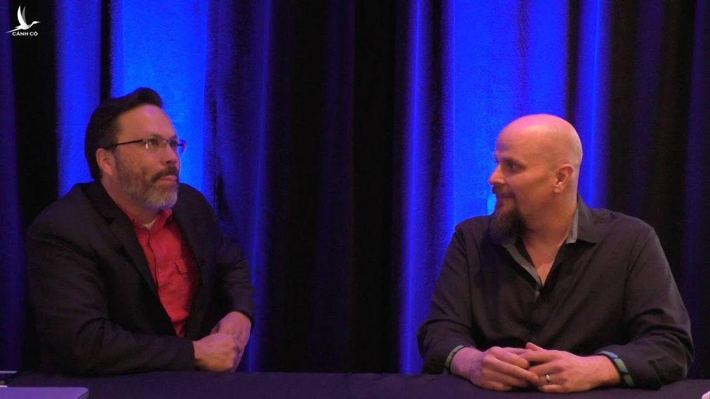 Ông Trey Blalock (phải) bày tỏ lo ngại rằng Olympic Pipeline có thể sẽ phải hứng chịu một cuộc tấn công mạng tương tự như Colonial Pipeline.