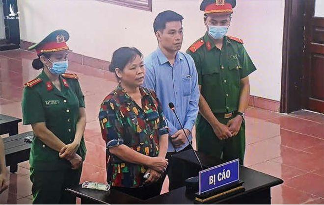 Mẹ con Cấn Thị Thêu, Trịnh Bá Tư tại tòa.