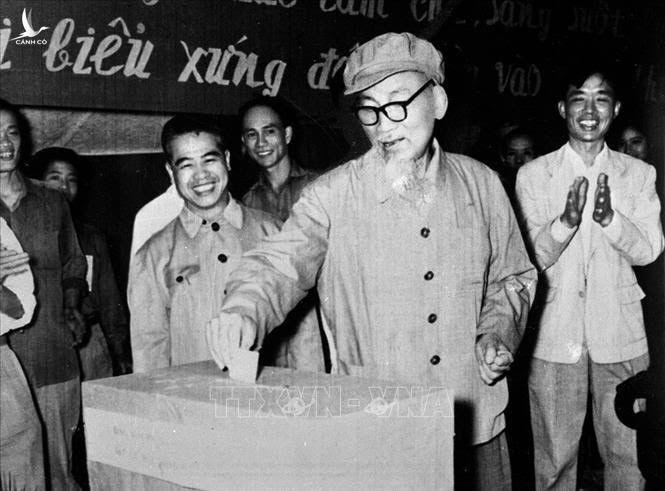 Ngày 27/4/1969, Chủ tịch Hồ Chí Minh đến bỏ phiếu bầu cử đại biểu Hội đồng nhân dân tại khu phố V tại hòm phiếu số 6, đơn vị bầu cử 1, tiểu khu 1, khu phố Ba Đình, Hà Nội.