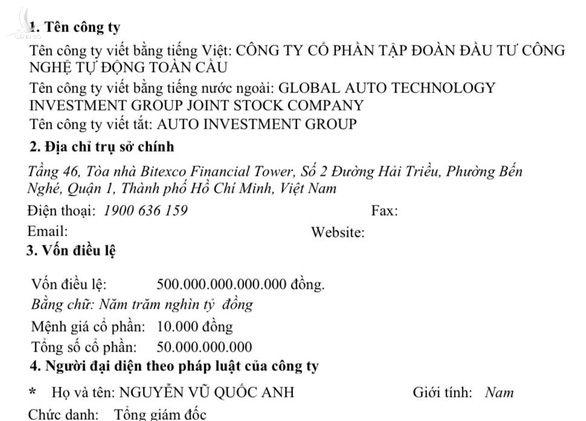 Báo cáo Bộ Công an về doanh nghiệp đăng ký vốn trên 525.000 tỉ đồng - Ảnh 1.