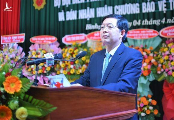 Ông Hồ Quốc Dũng tái đắc cử chủ tịch HĐND tỉnh Bình Định - Ảnh 1.