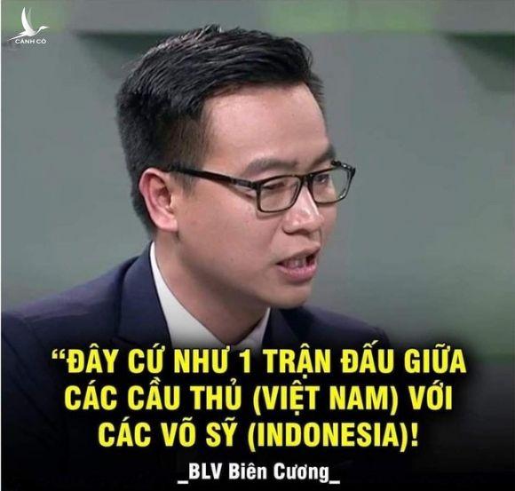 BLV Tạ Biên Cương và VTV nói gì khi bị chỉ trích nặng nề sau trận Việt Nam – Indonesia? - Ảnh 2.