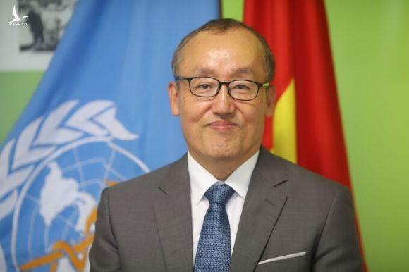 Ông Kidong Park, đại diện Tổ chức Y tế Thế giới tại Việt Nam. Ảnh:WHO cung cấp