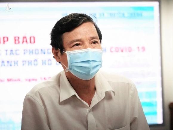 Bác sĩ Nguyễn Hữu Hưng, Phó giám đốc Sở Y tế TP.HCM /// Ảnh: Sỹ Đông