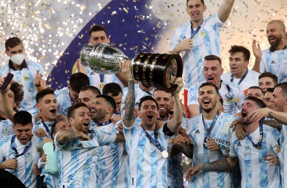 Argentina vo dich Copa America anh 7