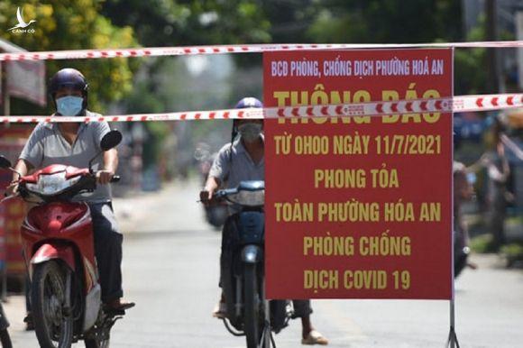1 chủ tịch phường ở Đồng Nai mất chức vì phòng COVID-19 chưa tốt - ảnh 1