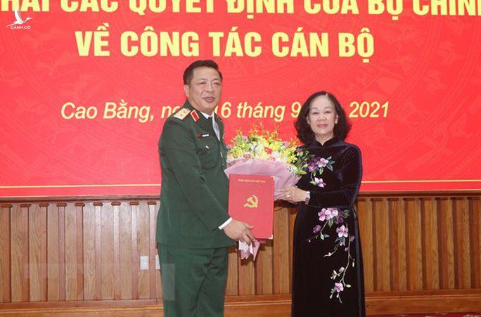 Trung tướng, Chủ nhiệm Tổng cục Công nghiệp Quốc phòng làm Bí thư Cao Bằng - Ảnh 1.