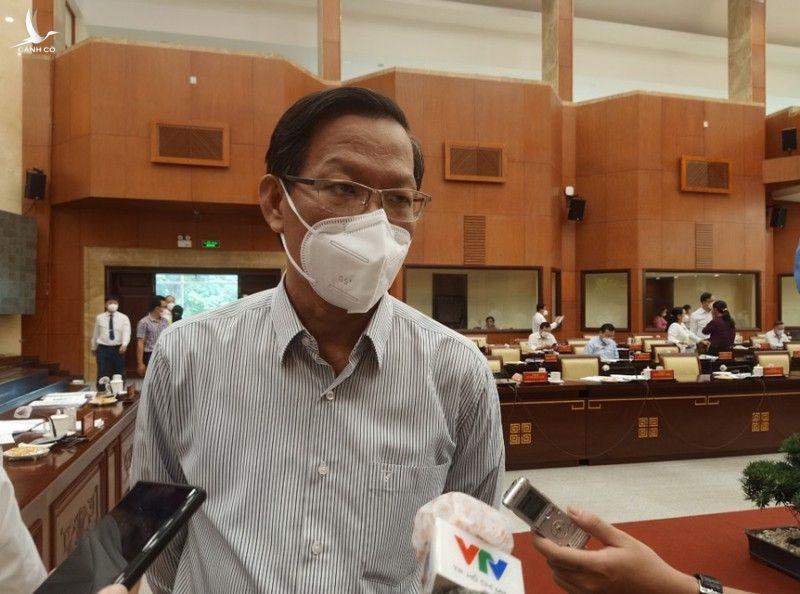 Chủ tịch Phan Văn Mãi: TP.HCM chưa thể trở lại bình thường mới trong tháng 11