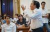 Doanh nhân Nguyễn Văn Đực: 'Xin lỗi tôi nói thẳng, làm chậm nhất là Văn phòng UBND TP và Sở TN-MT'