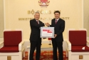 Bộ Công an Việt Nam trao khẩu trang tặng các Cơ quan thực thi pháp luật Indonesia