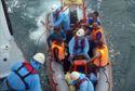 Cứu 13 thuyền viên bị chìm tàu trên vùng biển Đà Nẵng