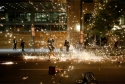 Bạo loạn đã ăn sâu bén rễ trong biểu tình Mỹ