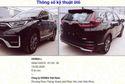 Rò rỉ hình ảnh Honda CR-V 2020 lắp ráp tại Việt Nam