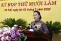 Chủ tịch Quốc hội lưu ý Hà Nội về chuẩn bị nhân sự Đại hội Đảng