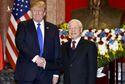 Tổng bí thư, Chủ tịch nước Nguyễn Phú Trọng điện mừng Tổng thống Donald Trump