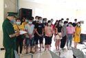 Lợi dụng mưa gió 25 người nhập cảnh trái phép vào Việt Nam
