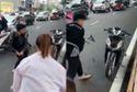 Tạm giữ thanh niên va chạm xe máy với bà bầu đập nát xe người nhắc nhở