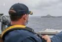 Biển Đông Hôm Nay: Khinh hạm Trung Quốc bám đuổi tàu sân bay Mỹ trên Biển Đông