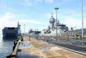 Vịnh Cam Ranh đón tàu hải quân lớn nhất của Australia