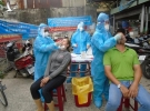 Ca nhiễm Covd-19 đi chợ, Quận 8 – TP HCM xét nghiệm khẩn 420 người