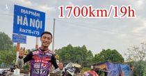 Cục CSGT xử phạt phượt thủ vượt 1.700 km hết 19 giờ