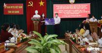 Phó chủ tịch nước Võ Thị Ánh Xuân trao tặng quà ý nghĩa cho An Giang