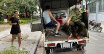 Tập thể dục trên đường phố, người dân ngỡ ngàng khi bị xử phạt